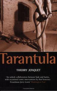 English_language_cover_for_Tarantula_(translation_of_French_Mygale_(novel))
